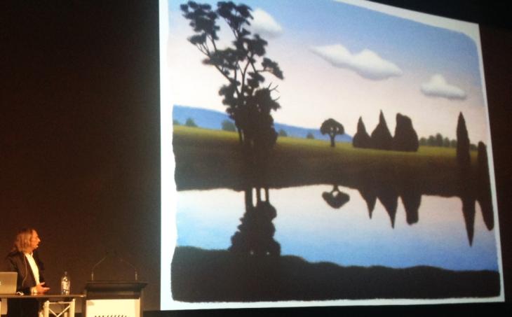 Reg Mombassa - landscape painter